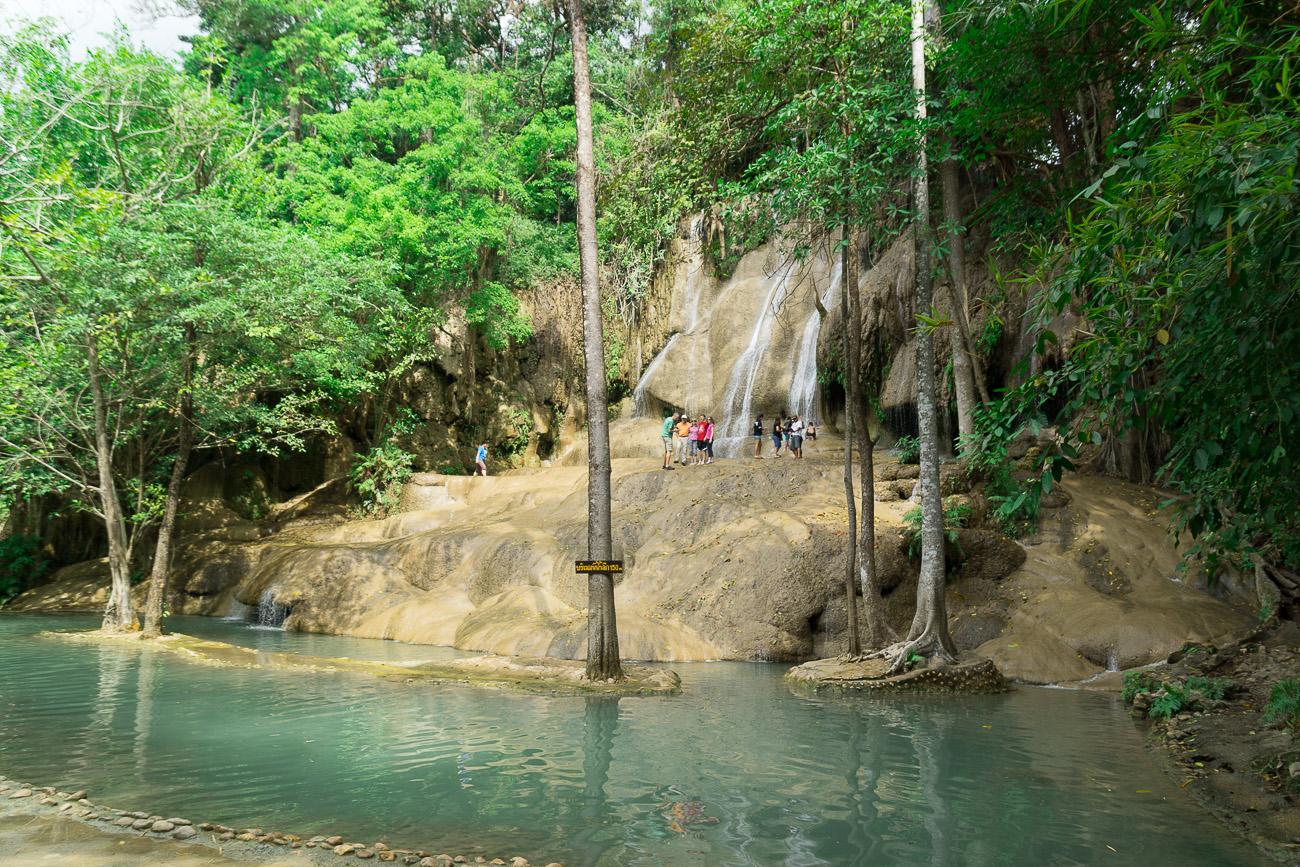 น้ำตกไทยโยคน้อย กาญจนบุรี